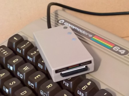 LIMITED EDITION Genuine recycled C64 plastic Cased SD2IEC+