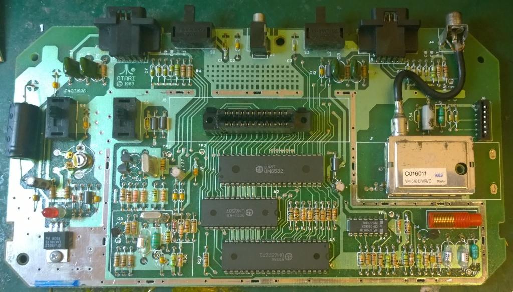 Atari 2600jr Composite Mod