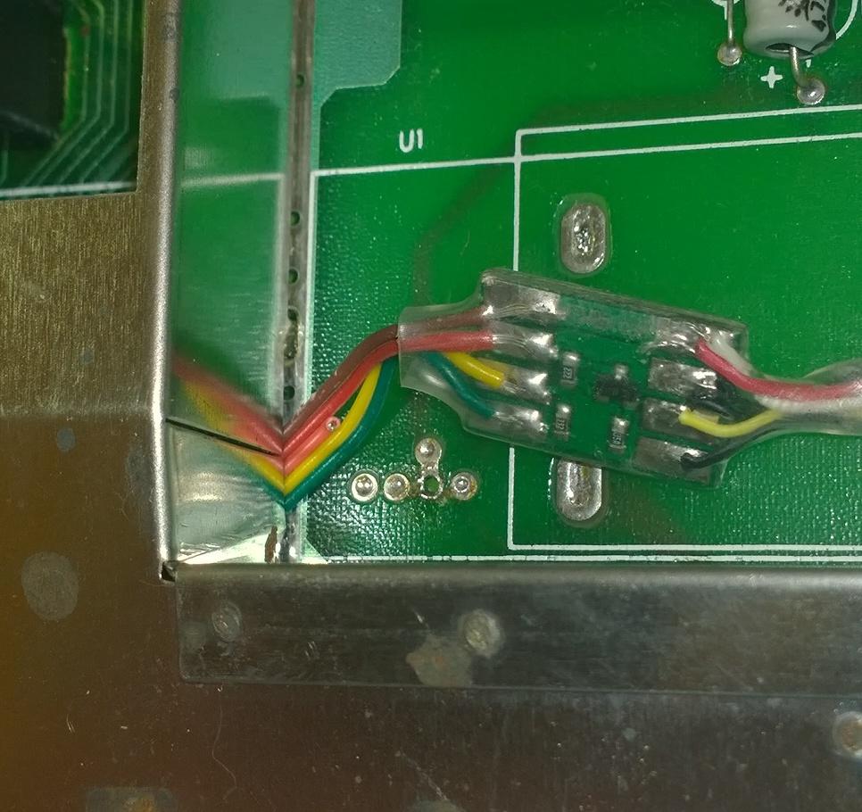 Atari 2600jr PAL Composite Mod