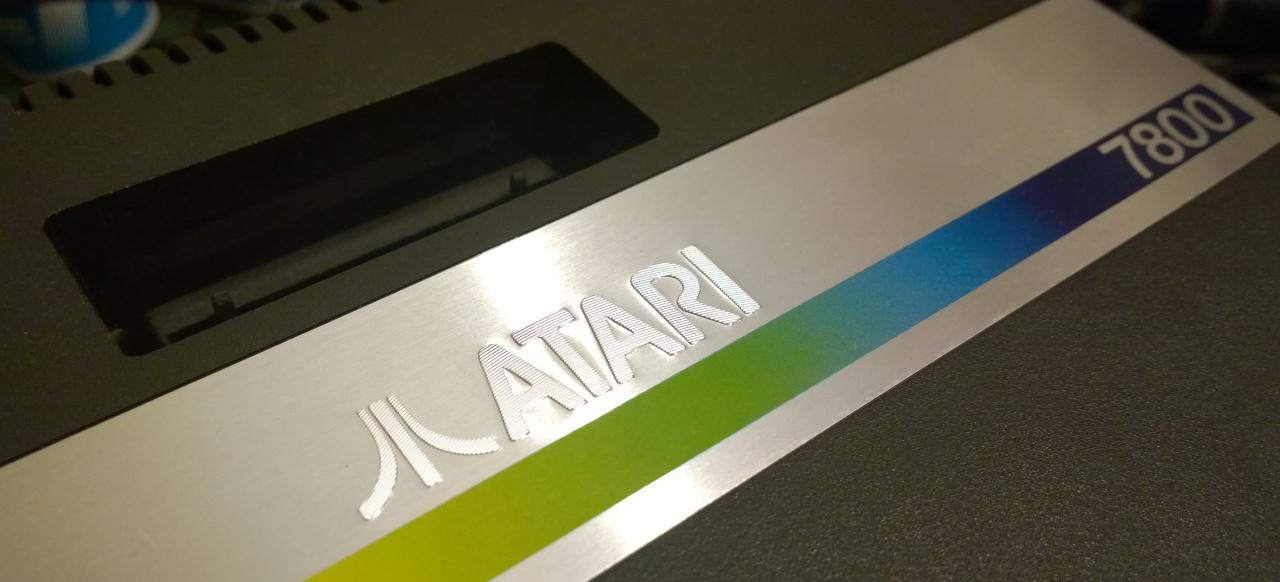 Atari 7800 Composite Mod