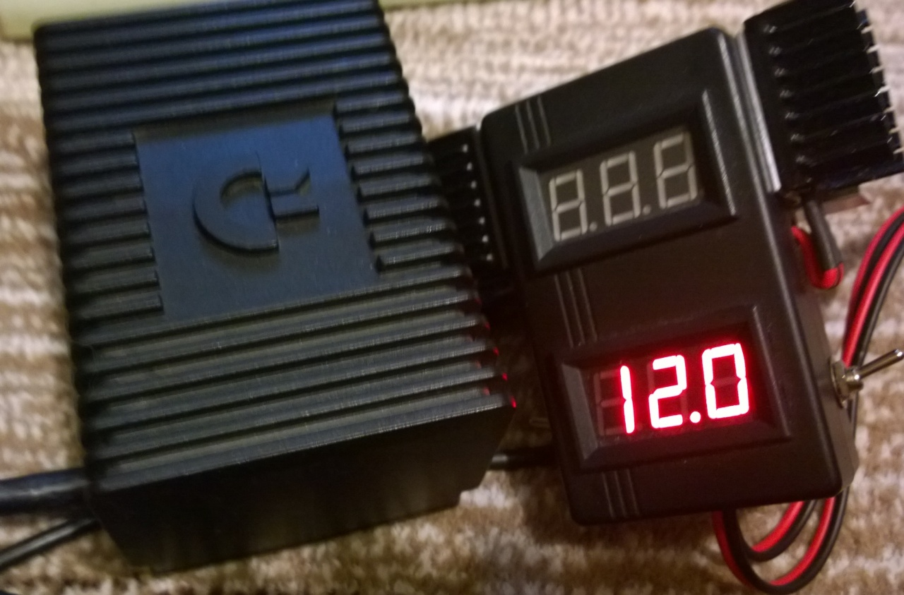 Commodore PSU Tester mk2
