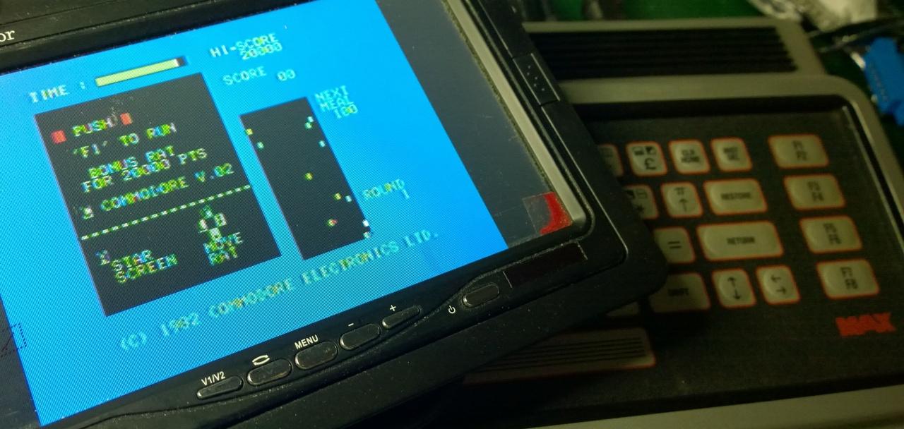 Commodore Max Machine