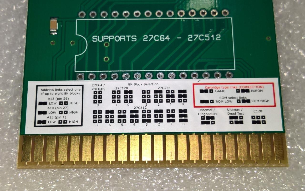 TFW8b.com Commodore C64 8k ROM PCB
