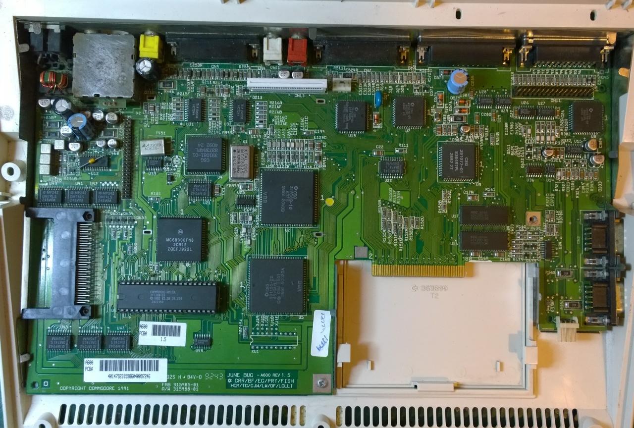 Amiga 600 Repair