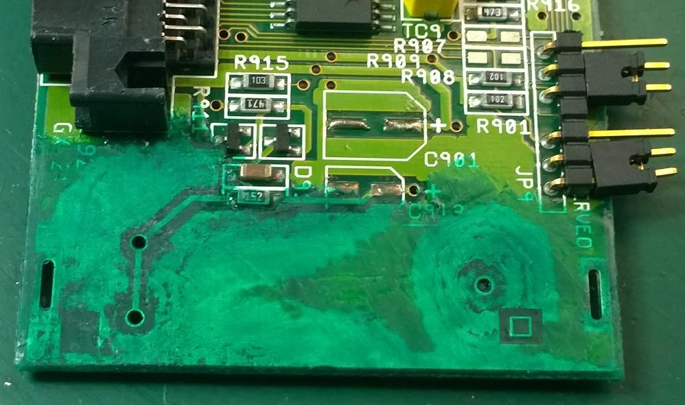 A601 corrosion repair