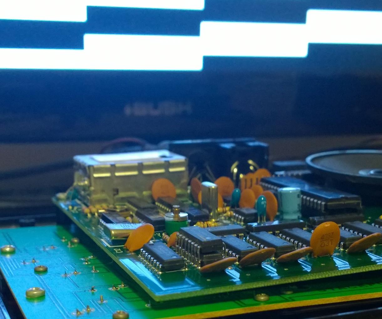 Oric Atmos memory repair