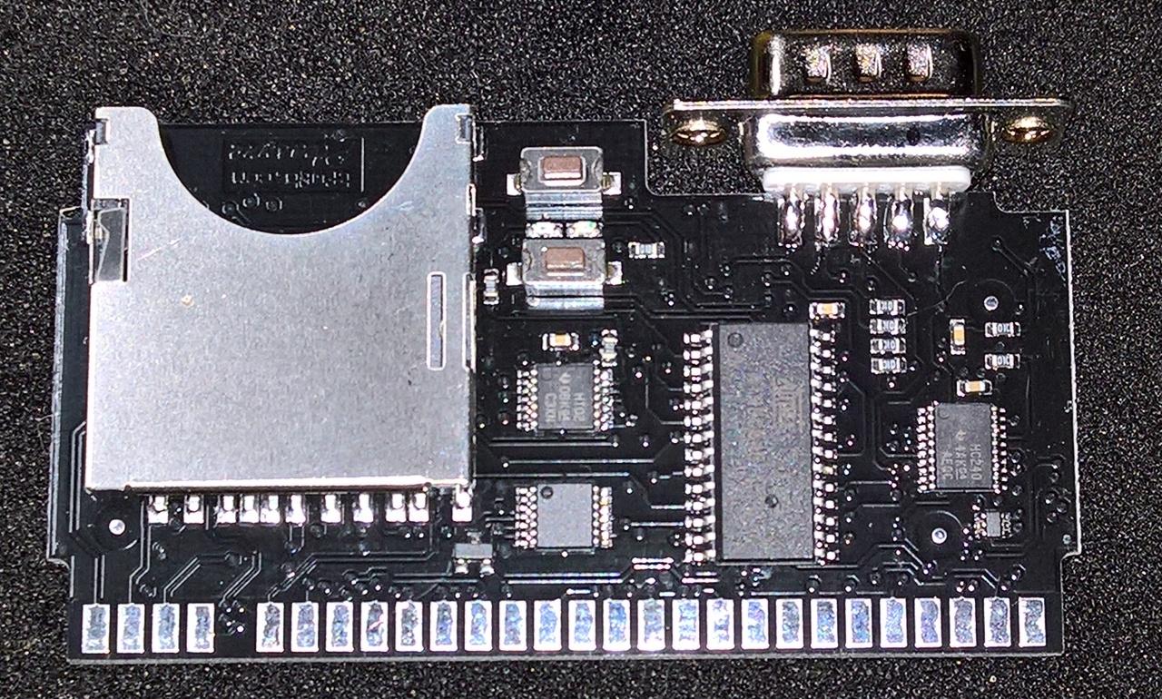 divMMC Future v1.3 PCB