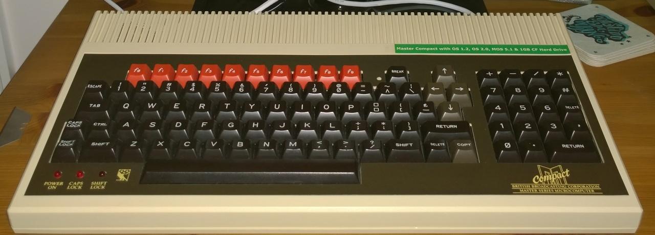 Acorn BBC Master Compact