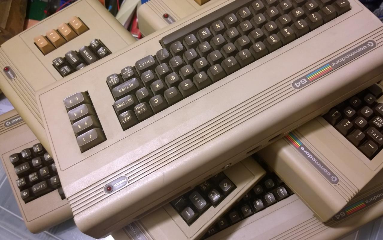 Too many C64's