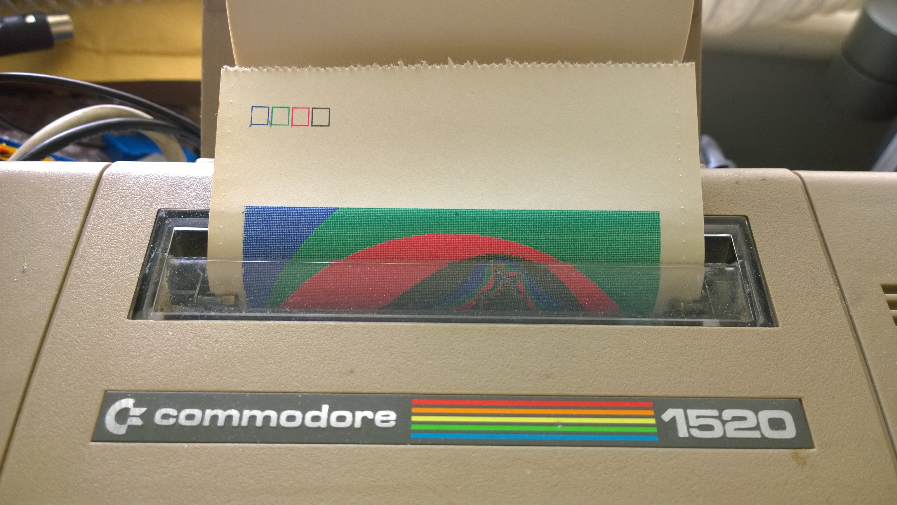 Commodore 1520 Plotter