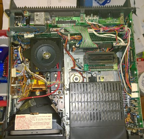 SX64 lid off